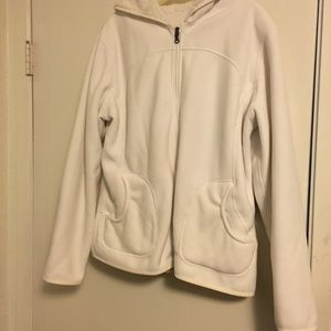 White Reversible Coat XL